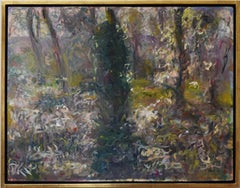 Lemmons Garden by Sargy Mann, Abstract Painting, 20th Century