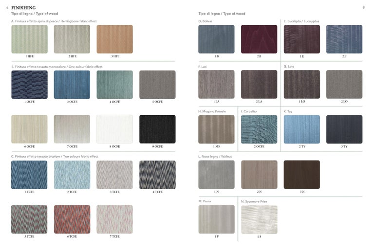 Sarita 2 Colors Luxury Cabinet Metal Structure, Jewel Handles & 2 Wooden Compart For Sale 4