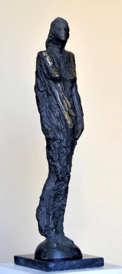 """Baroness"" Bronze Sculpture 20"" x 4"" x 3"" inch by Sarkis Tossonian"