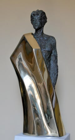 """Selina"" Bronze Sculpture 37"" x 17"" x 8"" inch by Sarkis Tossonian"