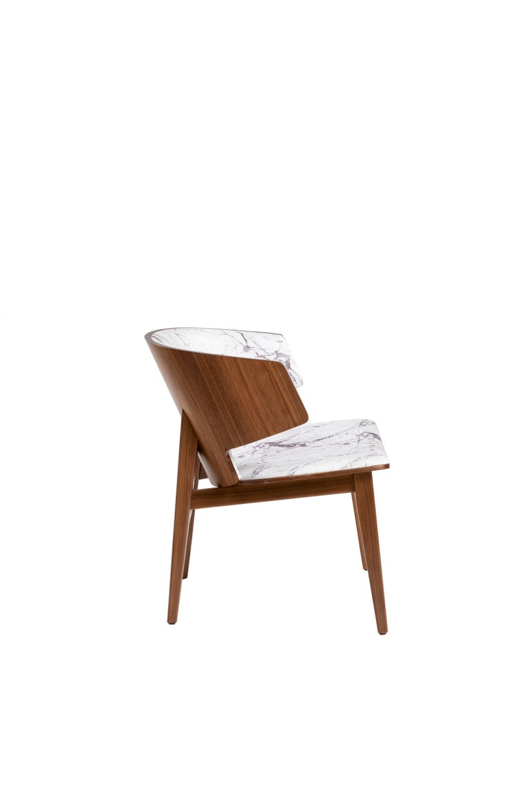 Sarr, Mid-Century Modern Wooden Chair, Dining chair, Office chair In New Condition For Sale In Istanbul, TR