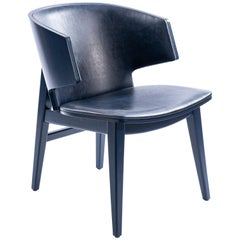 Sarr, Mid-Century Modern Style Wooden Chair, Dining Chair, Office Chair