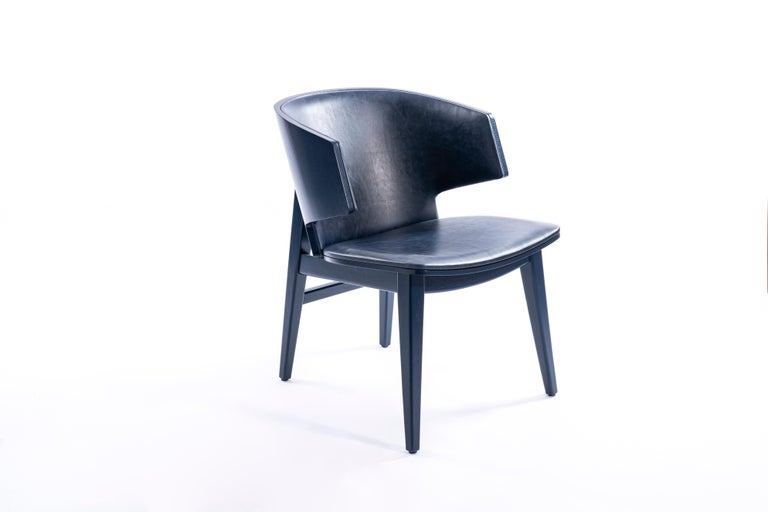 Sarr, Mid-Century Modern Wooden Chair, Dining chair, Office chair For Sale 2