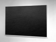 """""""Water, 45"""" Minimalist Landscape, large format photograph, framed and mounted"""