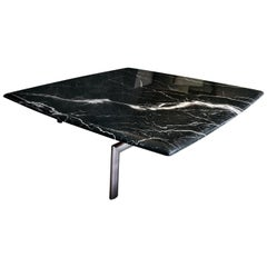 Sasso Black Marble Coffee Table by Bosco Fair