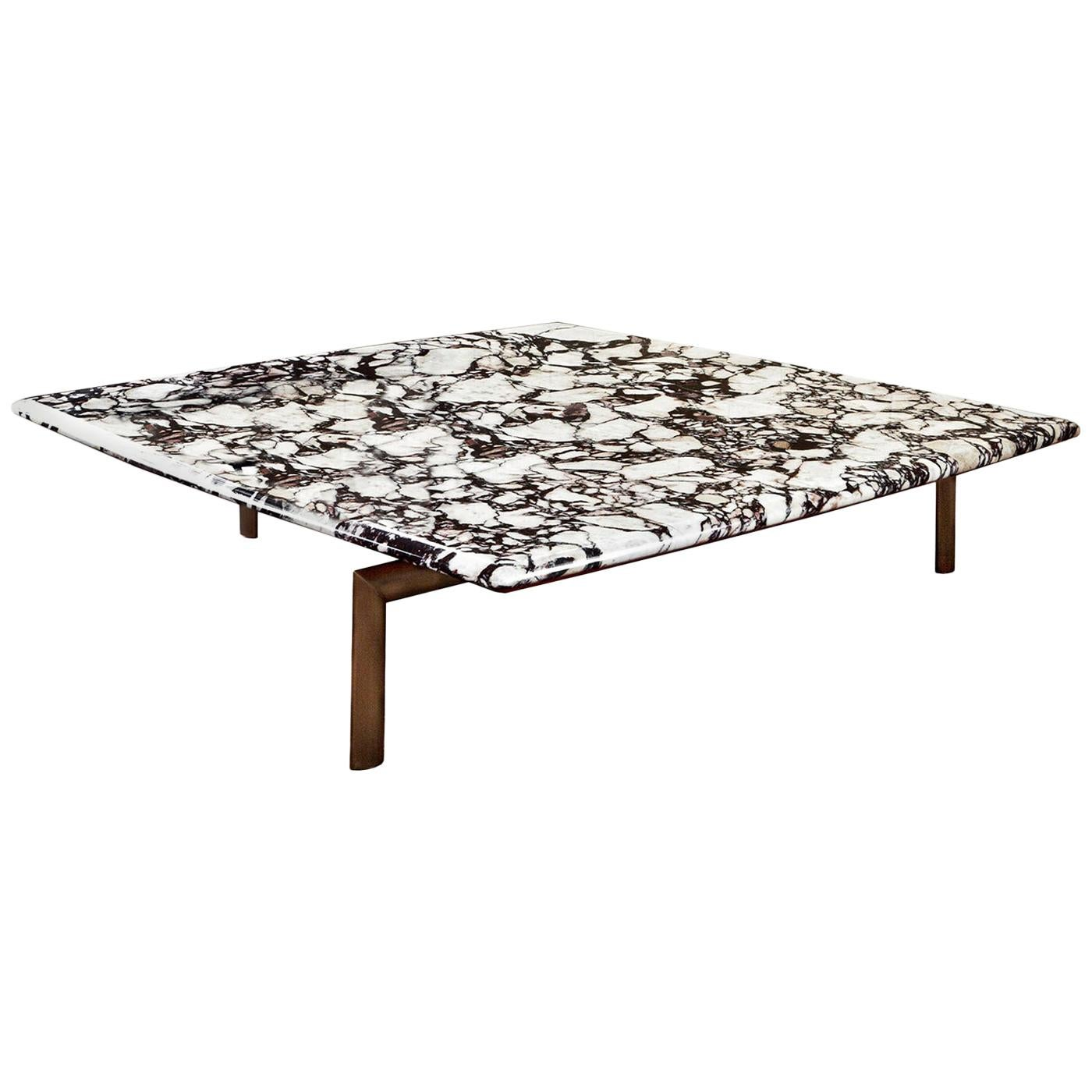 Sasso Breccia Marble Coffee Table by Bosco Fair