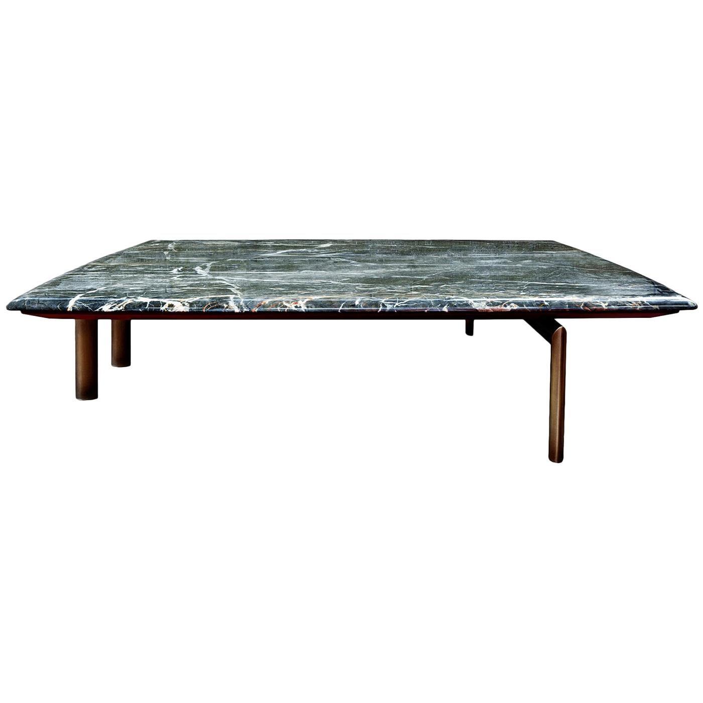 Sasso Gray Marble Coffee Table by Bosco Fair