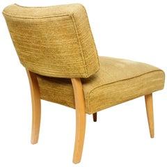 Sassy Blonde Slipper Chair Charming  1950s Billy Haines Modern Side Seat