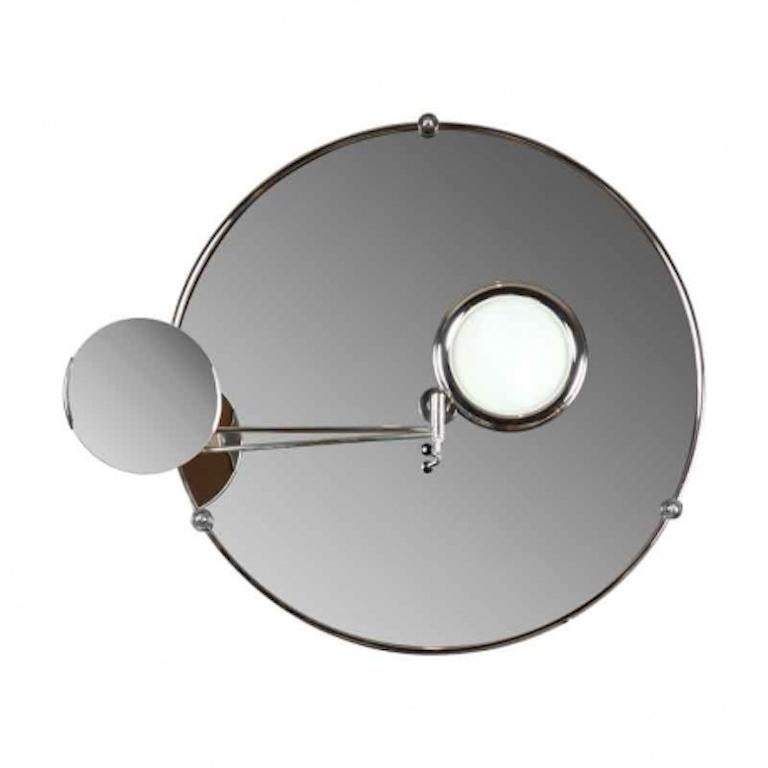 French Satellite Mirror by Eileen Gray for Ecart For Sale