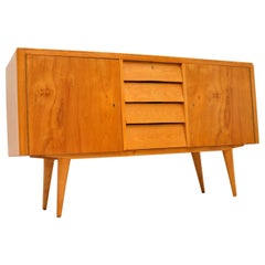 Satin Birch Sideboard Vintage, 1950's