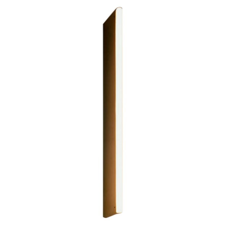 Linear Satin Brass Tube Wall Light by Michael Anastassiades For Sale