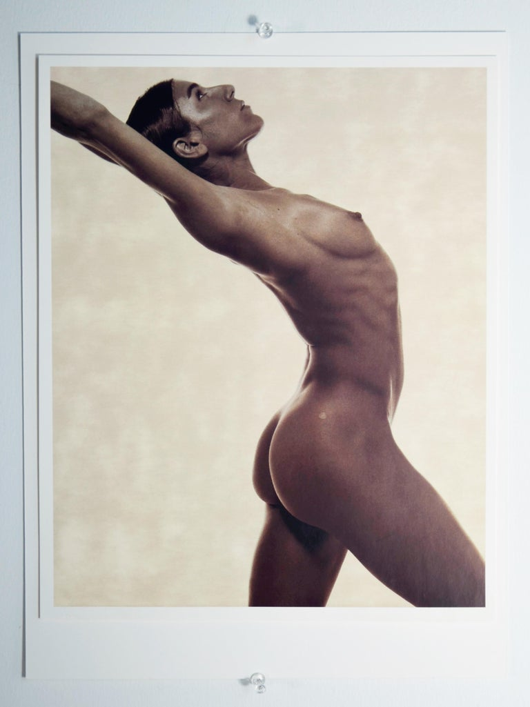 Modern Satin Finish Umber Photo-Lithograph by Karl Lagerfeld of