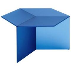 "Satin Glass ""Isom Square"" Coffee Table, Sebastian Scherer"