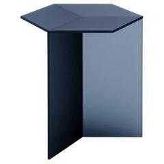 "Satin Glass ""Isom Tall"" Coffee Table, Sebastian Scherer"