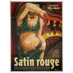 Satin Rouge 2002 French Grande Film Poster