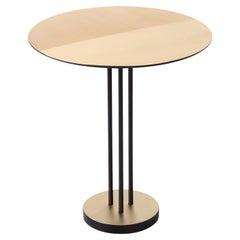 Satin Round Brass Table by Mingardo