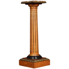 Satinwood Gilt Metal Mounted Torchiere