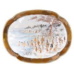 Satsuma Porcelain Tray