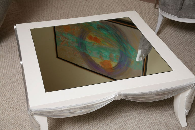 Saturday Sales James Mont Style Coffee Table For Sale 3