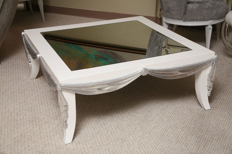 20th Century Saturday Sales James Mont Style Coffee Table For Sale