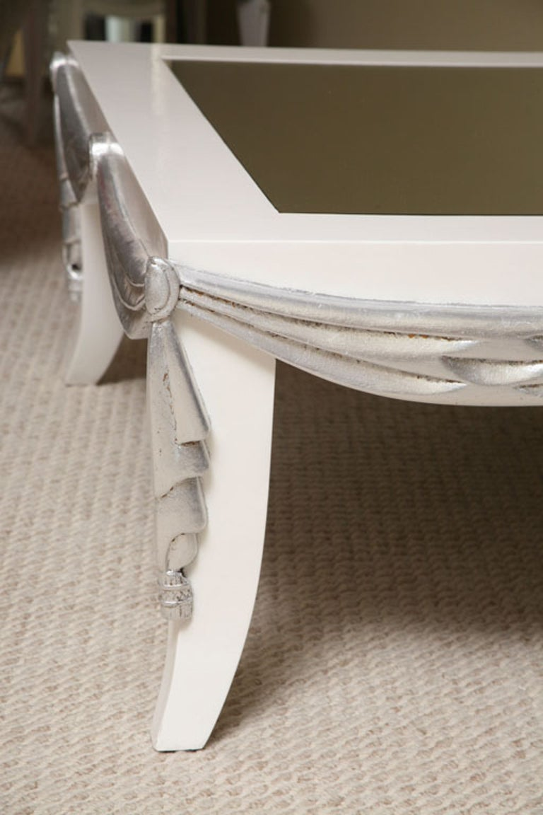 Mirror Saturday Sales James Mont Style Coffee Table For Sale
