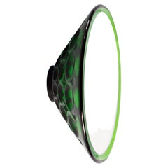 Saturn 155a Green, Wall Mirror