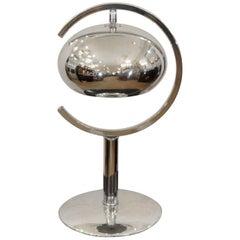 """Saturn"" Chrome Dropshade Desk Lamp"
