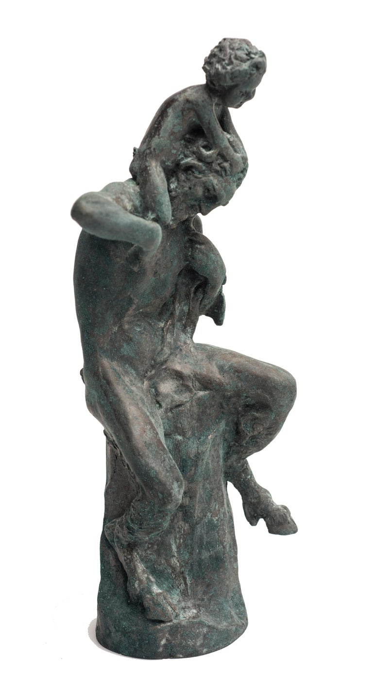 Satyr Sculpture by Aurelio Mistruzzi, Italy, 1930 In Good Condition For Sale In Roma, IT