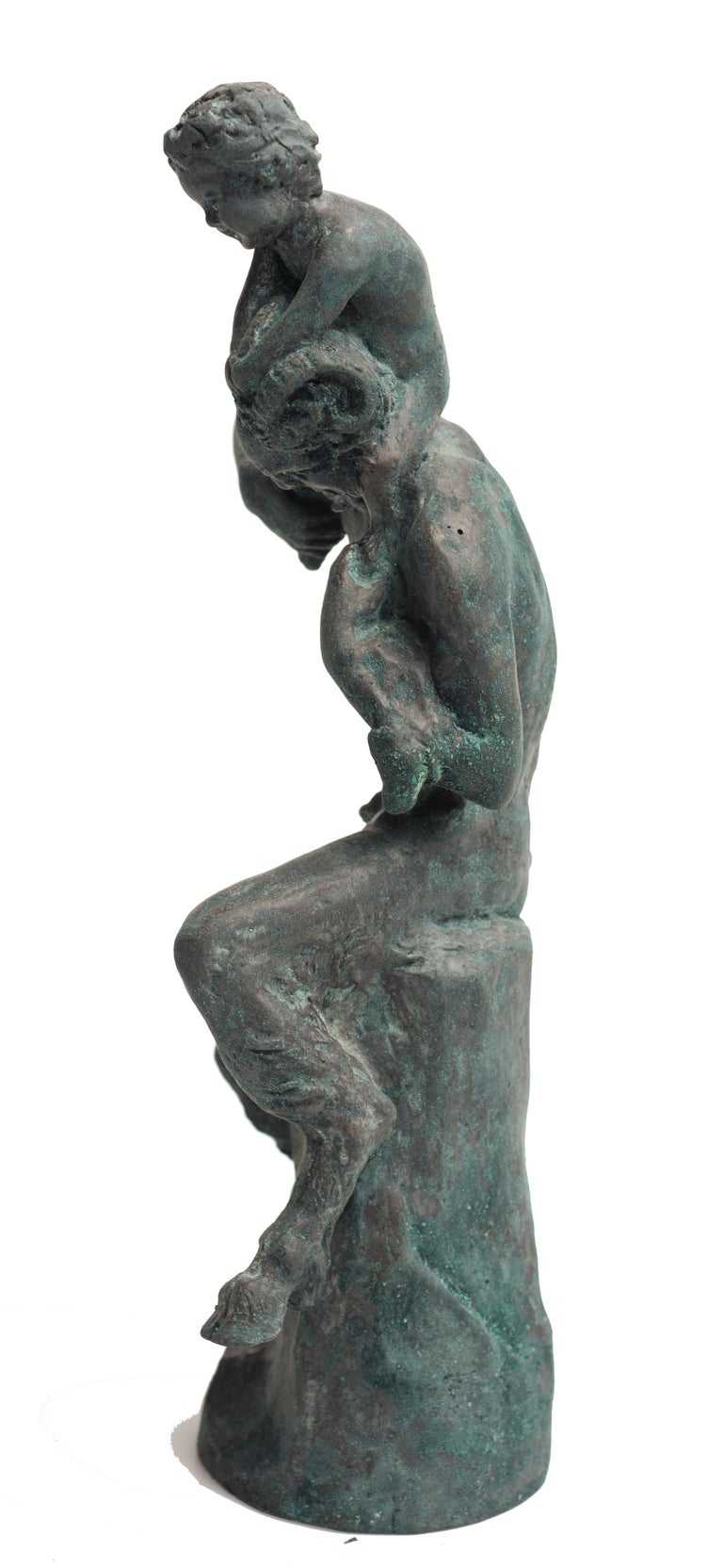 Mid-20th Century Satyr Sculpture by Aurelio Mistruzzi, Italy, 1930 For Sale