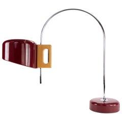 Sauce Mid-Century Modern Arc Table Lamp by Face Spain 1960