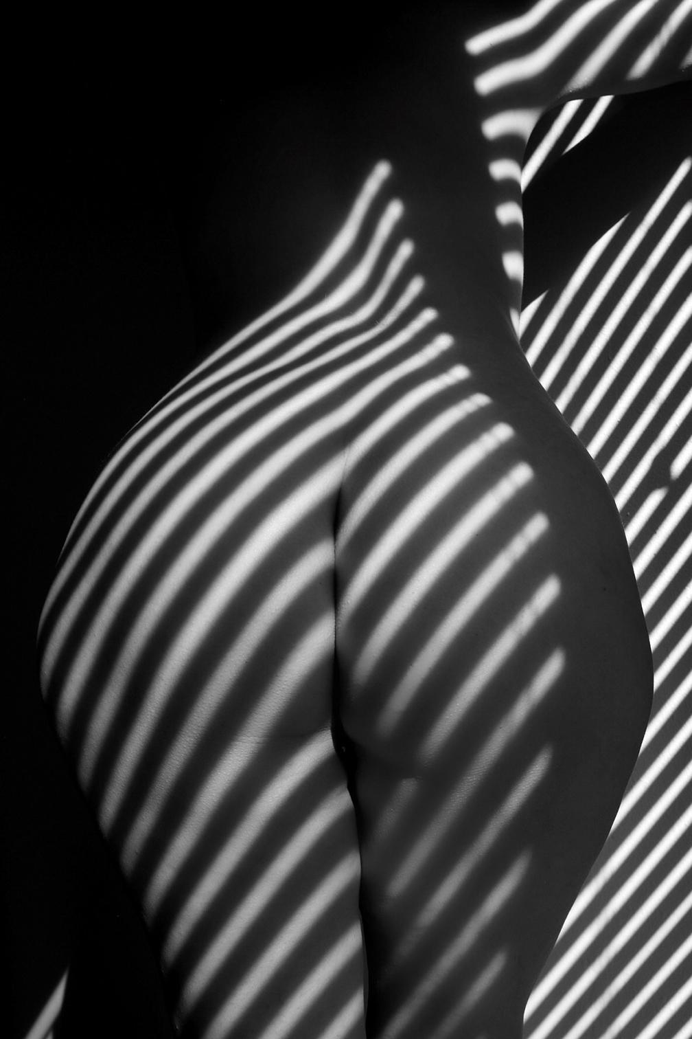 Savannah Spirit End of an Era (Black and White Nude Photography B&W)