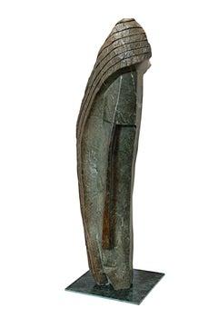 """I Am Beautiful,"" Original Opal Stone Sculpture signed by Savheri Chirwa"