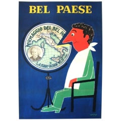 Savignac Bel Paese Original Vintage Poster