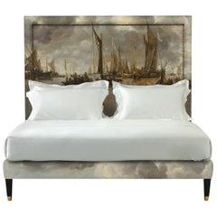 Savoir Felix with Jan van de Cappelle's A Shipping Scene and Nº3 Bed Set