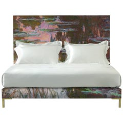 Savoir Harlech with Claude Monet's Water-Lilies and Nº4 Bed Set, King Size