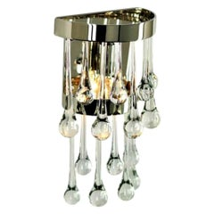 Savoy Crystal Wall Sconce by Zia Priven