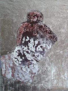 Adonis The Beautiful. Contemporary Mixed Media Figurative Painting