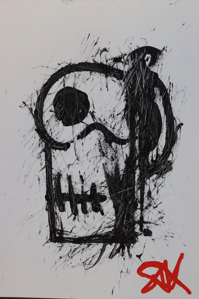 Sax Berlin Figurative Painting - Skull