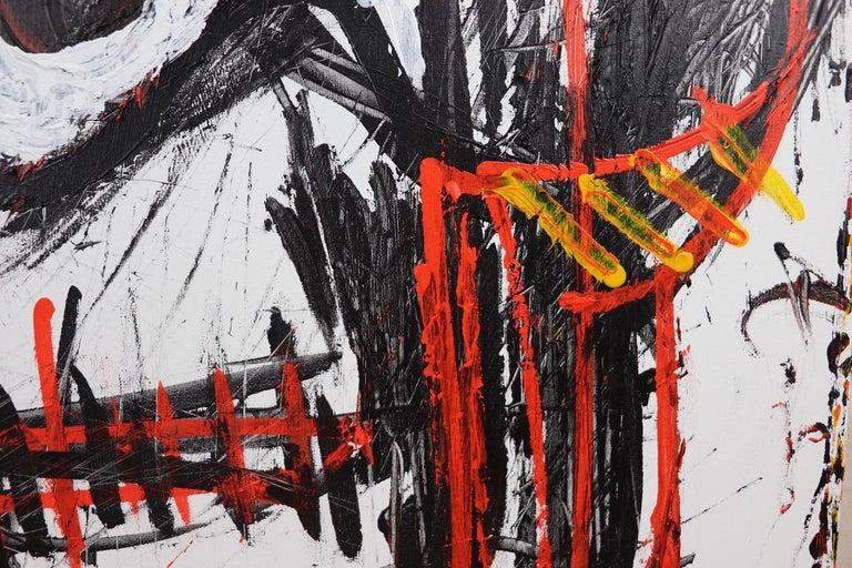 Skulls (Mortality) - Painting by Sax Berlin
