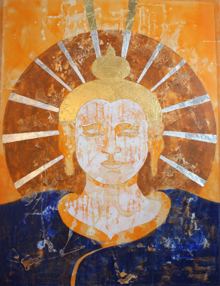 Tathagata - a Pali or Sanscrit word used primarily by Siddartha Gautama Buddha to refer to himself. However it also the term for one who has reached enlightenment through Buddhist principles & has as many as eight different meanings. Generally