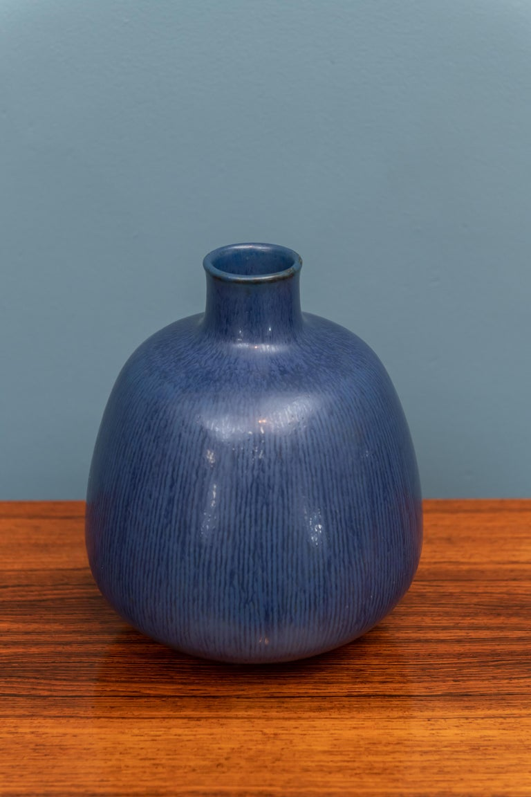 Scandinavian Modern vase by Saxbo, Denmark.