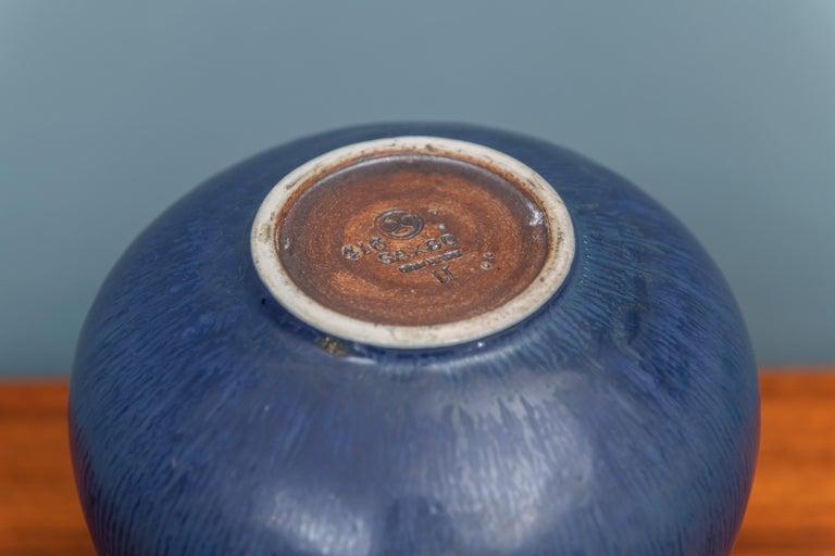 Danish Saxbo Ceramic Vase For Sale