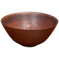 Saxbo Stoneware Ceramic Bowl, Denmark