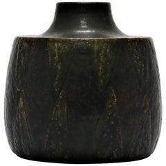 Saxbo Stoneware Vase by Eva Staehr Nielsen, Denmark, 1960s