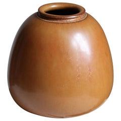 Saxbo, Vase, Glazed Stoneware, Saxbo, Denmark, 1950s