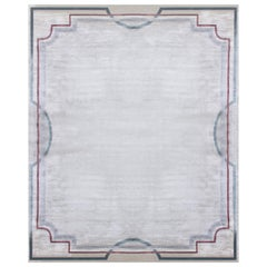 Hand Knotted - All silk rug - Saxo Grenat, Edition Bougainville