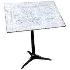 Saxon Adjustable Architect's Drafting Table, circa 1920