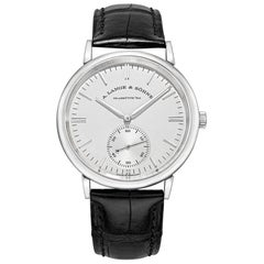 Saxonia Automatic White Gold '380.027'