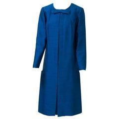 Scaasi Royal Blue 1960s Dress