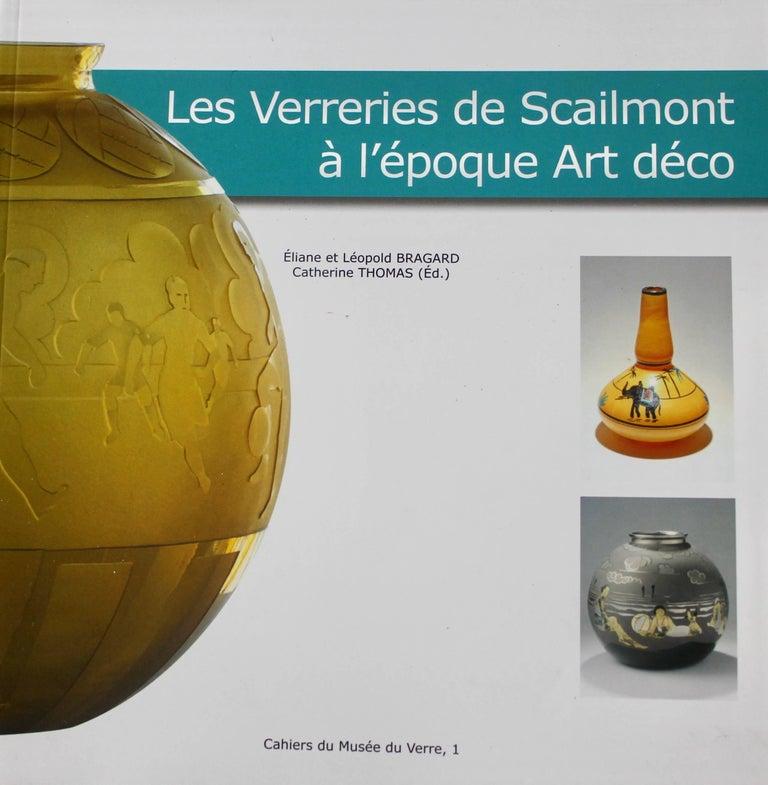 Mid-20th Century Scailmont Art GlassVase Designed by Henri Heemskerk, Made in Belgium For Sale